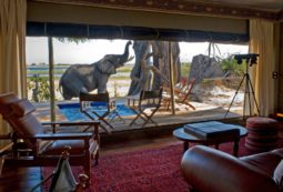 Lodge in Kalahari