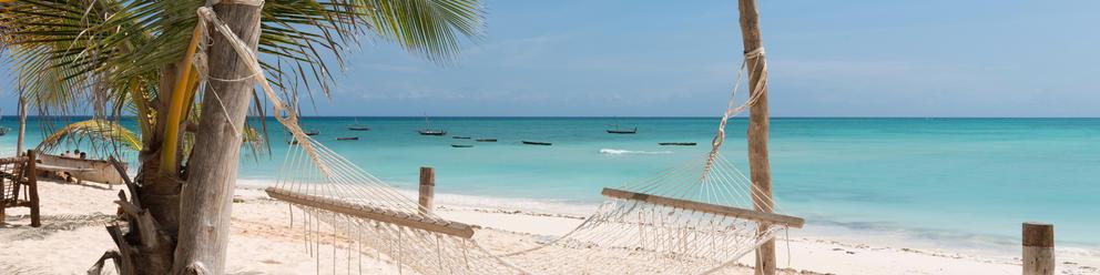 Tanzanian beach honeymoon holiday