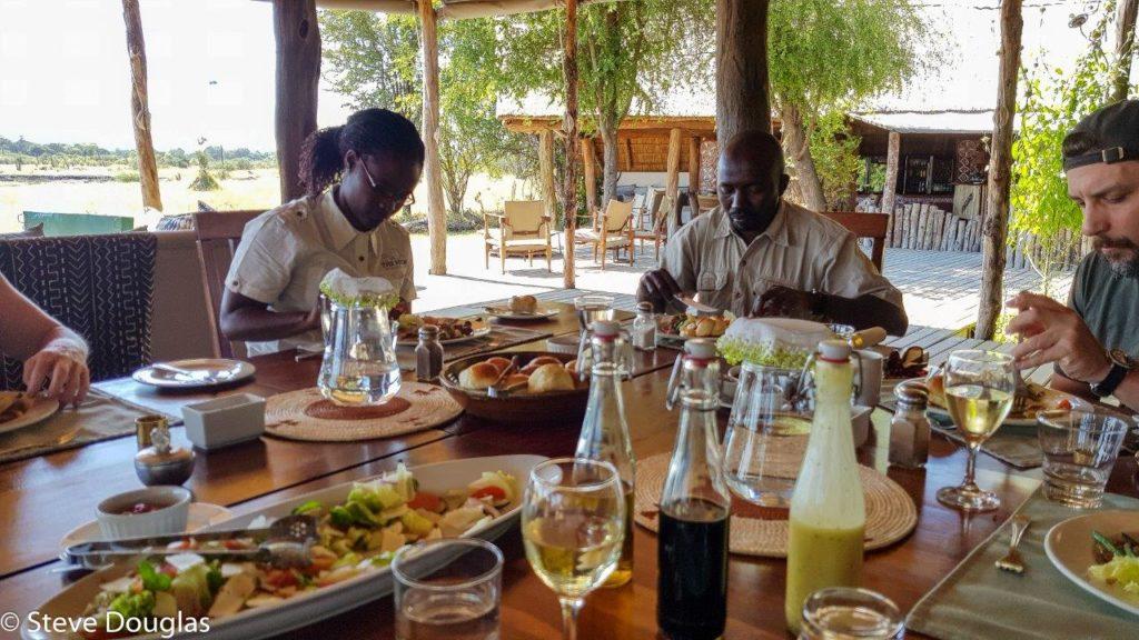 Hwange National Park The Hide tented luxury accommodation Zimbabwe Africa